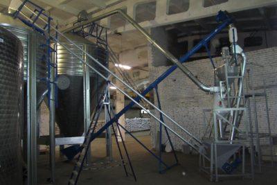Завод Рокот производитель систем транспортировки сыпучих продуктов