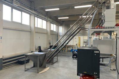 Аэромеханические конвейеры на производстве